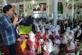 هفتمین پیک امید کانون پرورش فکری استان همدان در روستای گنبد برگزار شد
