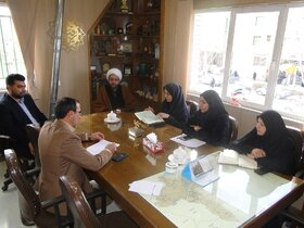 به مناسبت دهه فجر سومین جلسه شورای اقامه نماز اداره کل کانون پرورش فکری استان اصفهان برگزار شد
