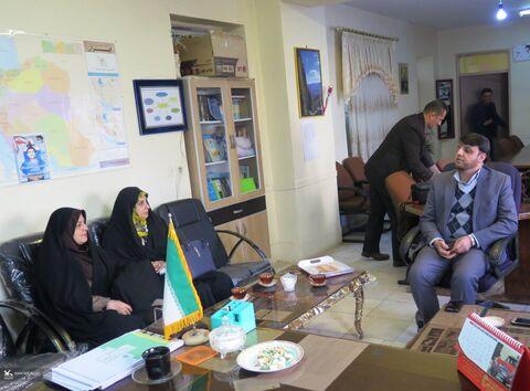 چند نما از اجرای فجرانه طرح پیک امید به همت کانون استان قزوین