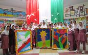 مسابقه نقاشی گروهی قاب خاطرات انقلاب