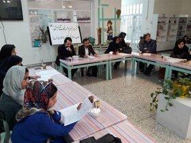 دهمین نشست انجمن داستان آفرینش در یزد، برگزار شد