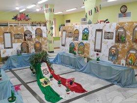 نمایشگاه قصه های قرآنی و انقلاب اسلامی در کانون پرورش فکری خمینی شهر برپا شده است