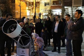 گرامیداشت روز ملی فن آوری فضایی در مرکز نجوم کانون مازندران