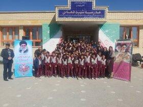 اجرای ویژه برنامه دهه مبارک فجر توسط پیک امید کانون پرورش فکری در شرق اصفهان