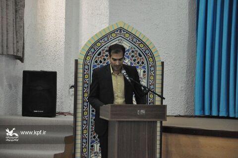 دیدار اعضای کارگروه کودک و نوجوان دهه فجر، مربیان و اعضای منتخب کانون  با نماینده ولی فقیه در خراسان جنوبی