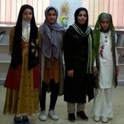 درخشش اعضای دختر کودک ونوجوان در مسابقات نقالی