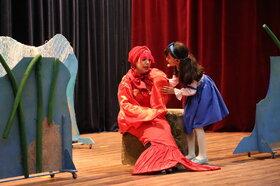 استقبال کودکان بوشهر از نمایش «درخت و ماهی گلی با ابرهای تپلی»