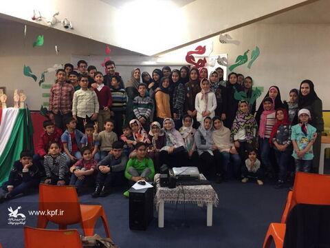 ویژه برنامه دهه فجر مرکز شماره 22 کانون تهران