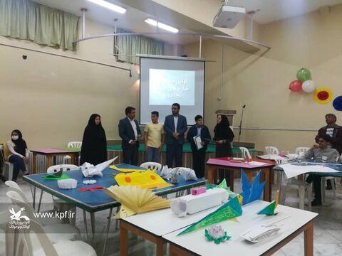 جشنواره سازه های بزرگ کاغذی در کانون نهبندان برگزار شد
