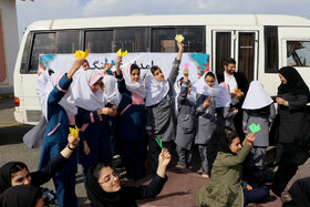 کاروان پیک امید(امداد فرهنگی) کانون درشهرستان املش