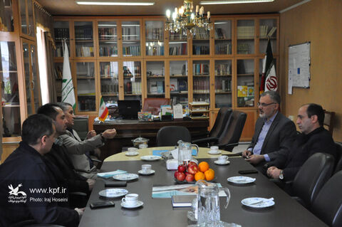 انعقاد تفاهمنامه همکاری مابین ادارههای کل کانون پرورش فکری و بهزیستی استان اردبیل
