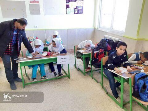 فعالیتهای کتابخانههای سیار کانون پرورش فکری گلستان در ایامالله دهه فجر