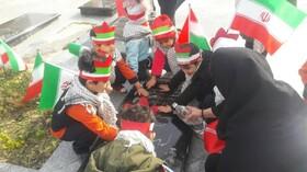 آشنایی کودکان ونوجوانان با آرمان های شهدای انقلاب