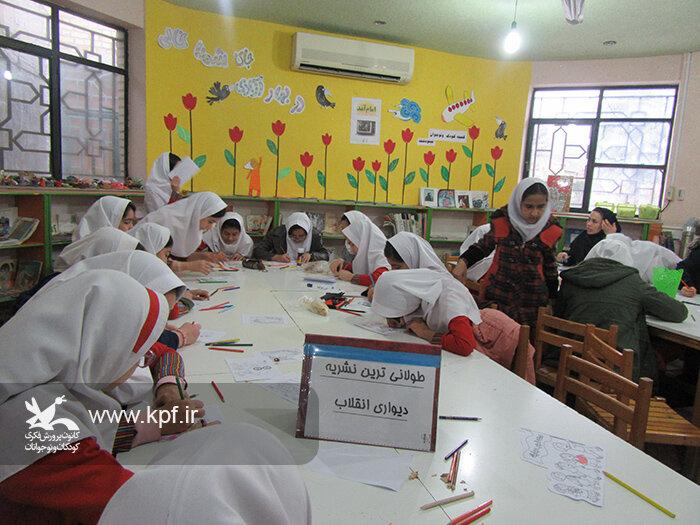 فعالیتهای ویژه کانون مینودشت در ایام الله دهه فجر