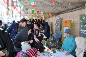 فعالیتهای کانون پرورش فکری استان البرز در راهپیمایی ۲۲ بهمن