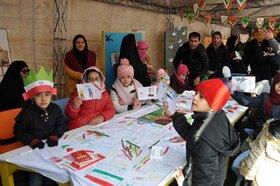 غرفه کانون البرز در  راهپیمایی۲۲بهمن