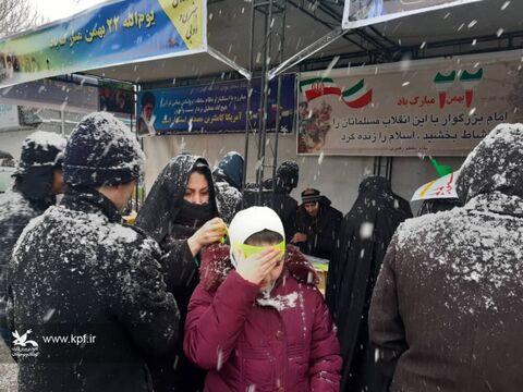 برپایی کارگاه فرهنگی، هنری و ادبی کانون مسیر راهپیمایی 22 بهمن تبریز