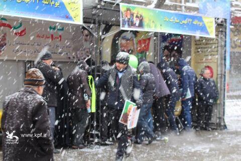 برپایی کارگاه فرهنگی، هنری و ادبی کانون مسیر راهپیمایی ۲۲ بهمن تبریز