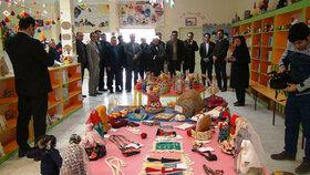 نمایشگاه مهرواره دست سازههای بومی محلی کانون شهرستان پارسآباد