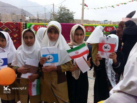 پیک امید کانون فارس در روستای اوه لارستان