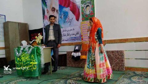 دهه فجر در کتابخانه سیار فراشبند/ کانون فارس