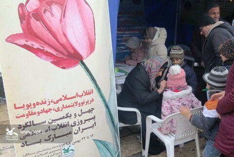 حضور پررنگ کانون استان قزوین در راهپیمایی 22 بهمن