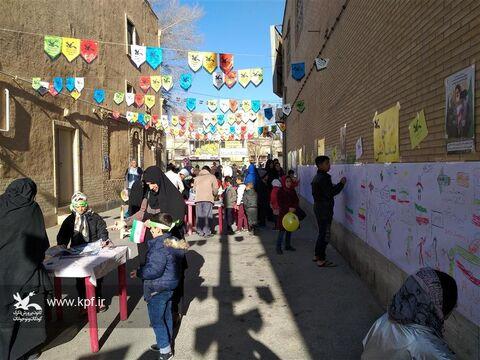 کانون پرورش فکری استان یزد با کوچه انقلاب در روز ۲۲ بهمن ۹۸
