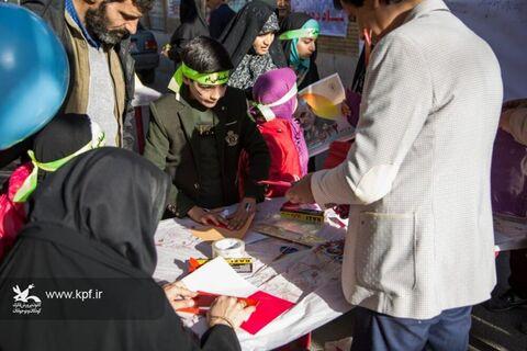 کانون پرورش فکری استان یزد با کوچه انقلاب در روز 22 بهمن 98