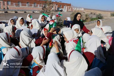 سفر کاروان پیک امید کانون سمنان به روستای طرود