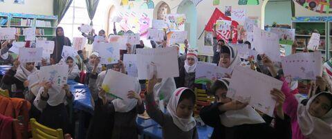 چند نما از ویژه برنامههای دهه مبارک فجر در مراکز فرهنگی و هنری کانون استان قزوین -۲