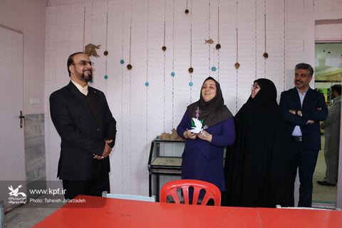 بازدید معاون توسعه و منابع کانون کشور از مراکز سمنان