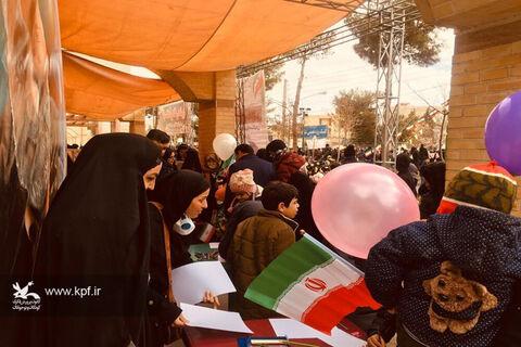 حماسهی پر شور کانونیهای سمنان در راهپیمایی ۲۲بهمن