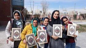دختران مرکز فرهنگی هنری شهر ری افتخار آفرین شدند