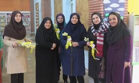 تجلیل از بانوان کانون استان قزوین