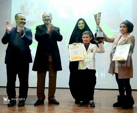 مراسم تجلیل از اعضای موفق کانون پرورش فکری کودکان و نوجوانان استان زنجان