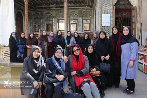 شیرازگردی بانوان کانون فارس در هفته بزرگداشت مقام زنان