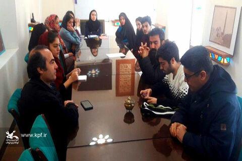 خانهی تسنیم دامغان میزبان اعضای انجمن ادبی لبخند انار