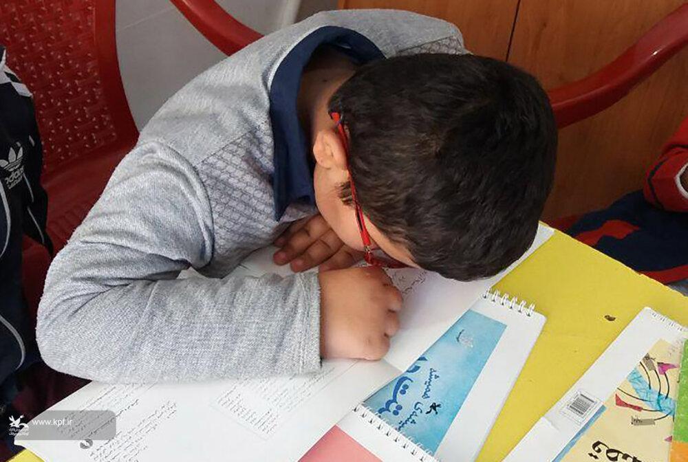 ویژه برنامه « بریل خوانی» در کانون خرم آباد