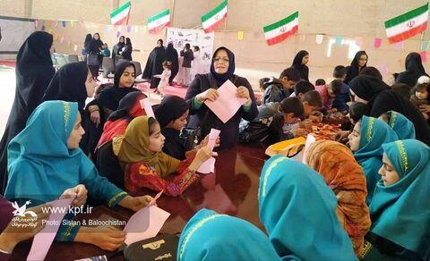 امداد فرهنگی مراکز فرهنگیهنری شماره دو زابل و هامون در رامشار(سیستان و بلوچستان)