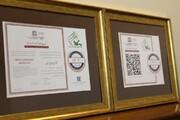گواهی «قدمت و ثبت در خاطرات جمعی» به کانون زبان ایران اهدا شد