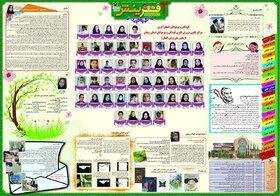 «آفرینش» عنوان نشریه دیواری کانون پرورش فکری استان زنجان