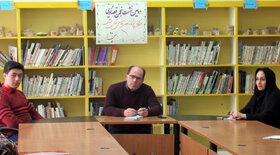 تشکیل دومین جلسه انجمن قصهگویی کانون استان اردبیل