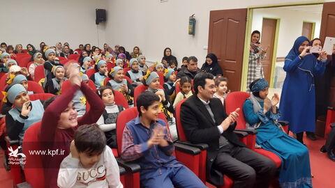 اختتامیه چهاردهمین جشنواره سرود خوانی در مرکز شماره 31 کانون تهران