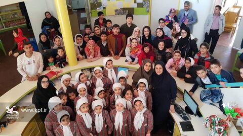اختتامیه چهاردهمین جشنواره سرود خوانی در مرکز شماره 15 کانون تهران