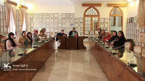بازدید اعضای مکاتبهای کانون استان تهران از موزه پست و ارتباطات/ عکس: یونس بنامولایی