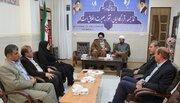 دیدار کارکنان اداره کل کانون استان  کهگیلویهو بویراحمد با نماینده ولیفقیه استان