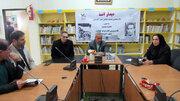 گزارشی از روند افتتاح کتابخانه انجمن ادبی آفرینش در کانون اردبیل
