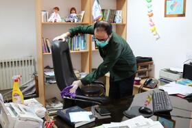 ضدعفونی کانون مازندران برای  پیشگیری از شیوع ویروس کرونا