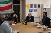 جلسه شورای اقامه نماز کانون پرورش فکری کودکان و نوجوانان استان کردستان برگزار شد