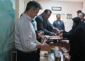 تجلیل از همکاران آقا در کانون استان قزوین